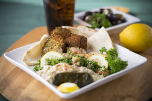 Falafel at Firdous Express
